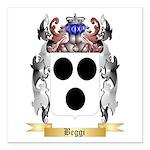 Beggi Square Car Magnet 3