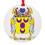Begg Round Ornament