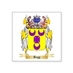 Begg Square Sticker 3
