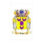 Begg Sticker (Rectangle 50 pk)