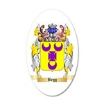 Begg 20x12 Oval Wall Decal