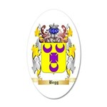 Begg 35x21 Oval Wall Decal