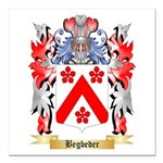 Begbeder Square Car Magnet 3