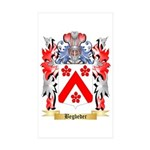 Begbeder Sticker (Rectangle 50 pk)
