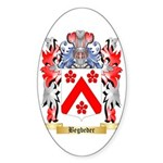 Begbeder Sticker (Oval 10 pk)