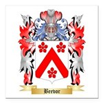 Beevor Square Car Magnet 3
