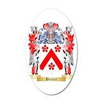 Beevor 35x21 Oval Wall Decal