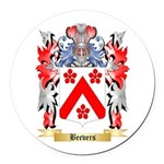 Beevers Round Car Magnet