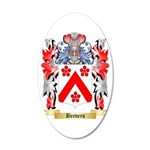 Beevers 35x21 Oval Wall Decal