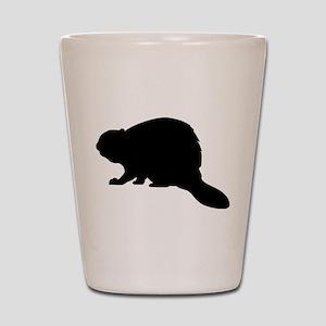 Beaver Shot Glass