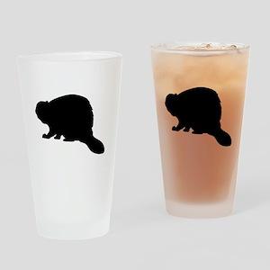 Beaver Drinking Glass