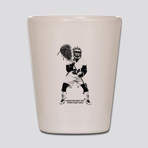 Behind Every Great Team Shot Glass