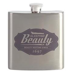 Sleeping Beauty Since 1697 Flask