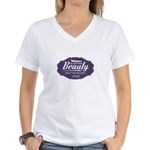 Sleeping Beauty Since 1697 Women's V-Neck T-Shirt