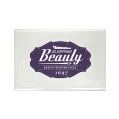 Sleeping Beauty Since 1697 Rectangle Magnet