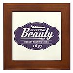 Sleeping Beauty Since 1697 Framed Tile