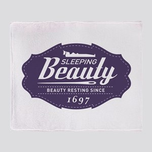 Sleeping Beauty Since 1697 Throw Blanket
