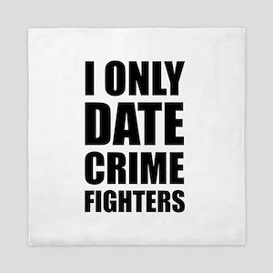 Date Crime Fighters Queen Duvet