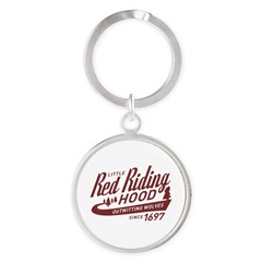 Little Red Riding Hood Since 1697 Round Keychain