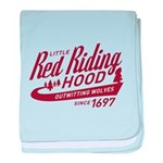 Little Red Riding Hood Since 1697 baby blanket