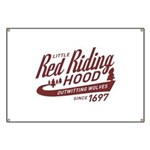 Little Red Riding Hood Since 1697 Banner