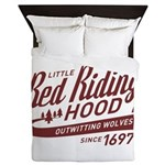Little Red Riding Hood Since 1697 Queen Duvet