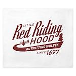 Little Red Riding Hood Since 1697 King Duvet