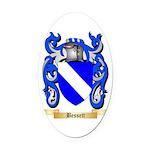 Bessett Oval Car Magnet