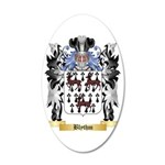Blythm 35x21 Oval Wall Decal