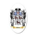 Blyde 20x12 Oval Wall Decal