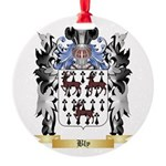Bly Round Ornament