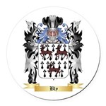 Bly Round Car Magnet