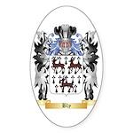 Bly Sticker (Oval 50 pk)