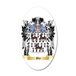 Bly 20x12 Oval Wall Decal