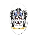Bly 35x21 Oval Wall Decal