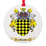 Blundy Round Ornament
