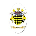 Blundy 20x12 Oval Wall Decal