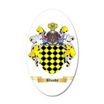 Blundy 35x21 Oval Wall Decal