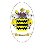 Blundus Sticker (Oval 50 pk)