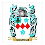 Blunderfield Square Car Magnet 3