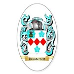Blunderfield Sticker (Oval)