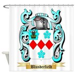 Blunderfield Shower Curtain