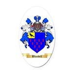 Blundell Oval Car Magnet