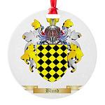 Blund Round Ornament