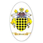 Blund Sticker (Oval 50 pk)