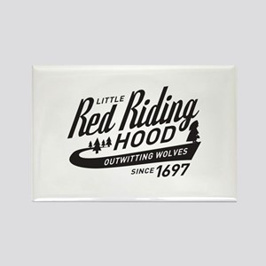 Little Red Riding Hood Since 1697 Rectangle Magnet