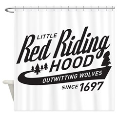 Little Red Riding Hood Since 1697 Shower Curtain