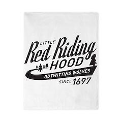Little Red Riding Hood Since 1697 Twin Duvet
