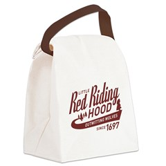 Little Red Riding Hood Since 1697 Canvas Lunch Bag