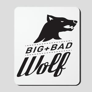 B&W Big Bad Wolf Mousepad